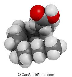 gras, rumenic, cla), linoleic, (bovinic, acide, conjugated, acide