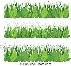 gras, verzameling