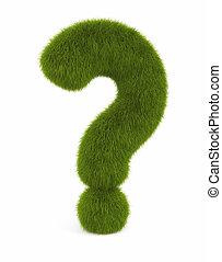 gras, vraag, meldingsbord
