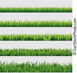 Grass Border Big Set