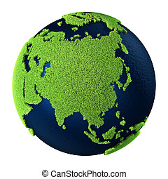 Grass Earth - Asia
