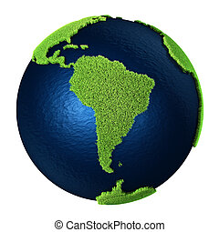 Grass Earth - South America