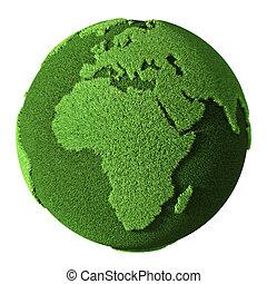 Grass Globe - Africa
