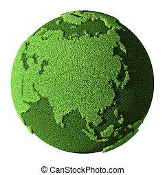 Grass Globe - Asia