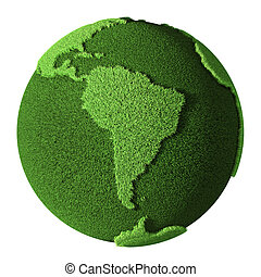 Grass Globe - South America