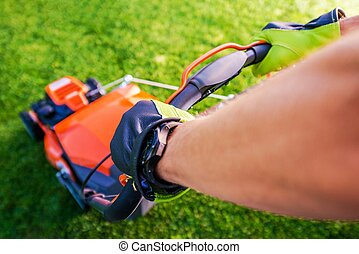 Grass Mowing Landscaping