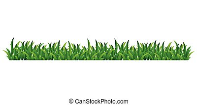 grass vector isolated on transparent background