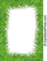 Grass vector pattern background
