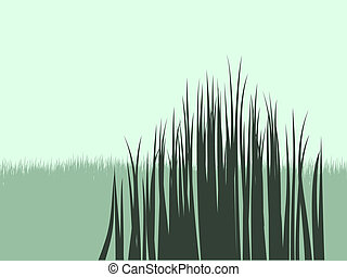 Grass Vector Shapes