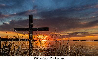 Grass Waters Cross