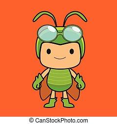 Grasshopper boy