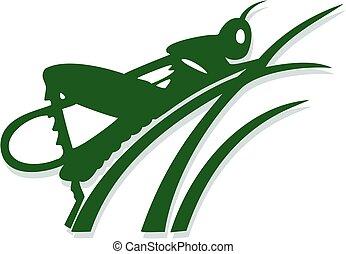 Grasshopper emblem
