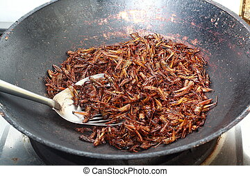 grasshopper fried