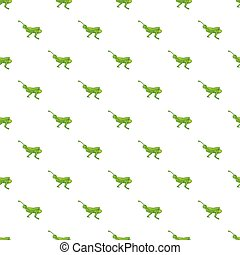 Grasshopper pattern, cartoon style - Grasshopper pattern....