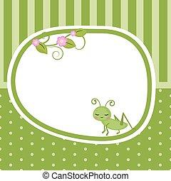 grasshopper., scheda, augurio