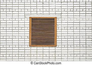 grate in a window