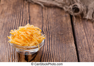 (grated), queso, cheddar