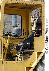 Grater Cabin - Heavy Construction Equipment Cabin