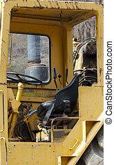 Grater Cabin - Heavy Construction Equipment Cabin
