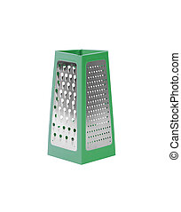 Grater isolated on white background