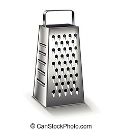 Grater isolated on white vector