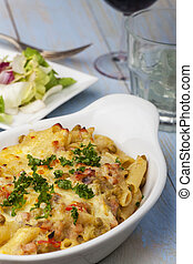 gratin of rigatoni emiliana