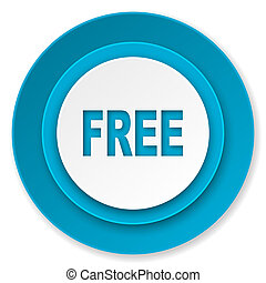gratis, ikon