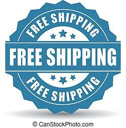 gratis, skeppning, ikon