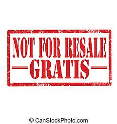 Gratis-stamp
