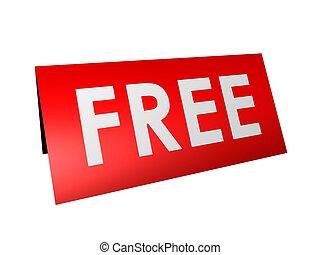 gratis, underteckna