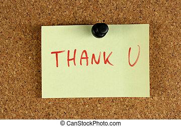 gratitude, -, aide, bureau