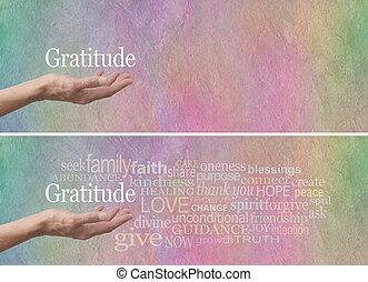 Gratitude Attitude Word Cloud