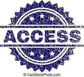 gratté, accès, textured, timbre, cachet