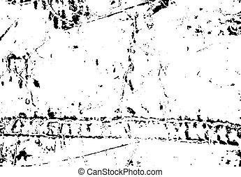 gratté, eps10, détresse, voile de surface, pelé, texture, peinture, vector., ton, design.