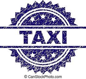 gratté, taxi, textured, timbre, cachet