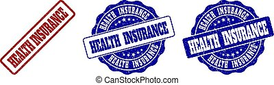 gratté, timbre, assurance maladie, cachets