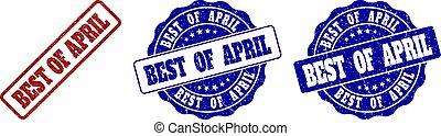 gratté, timbre, avril, mieux, cachets