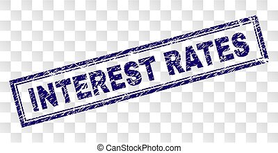 gratté, timbre, taux, intérêt, rectangle
