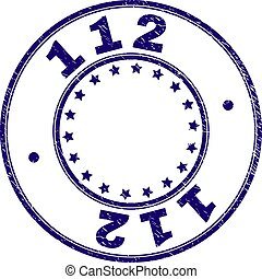 gratté, timbre, textured, 112, cachet, rond