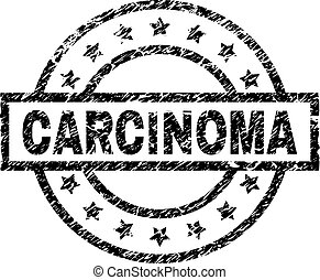 gratté, timbre, textured, carcinome, cachet