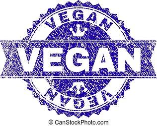 gratté, timbre, textured, vegan, cachet, ruban