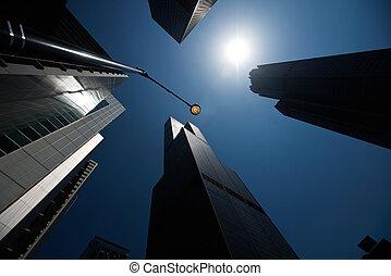 gratte-ciel, boucle, chicago