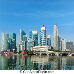 gratte-ciel, singapour