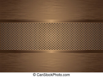 gratted bronze brushed - bronze abstract brushed metal...