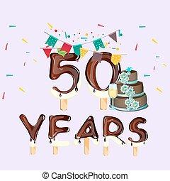 grattis på födelsedagen 50 år Sex, 56, femtio, födelsedag, år, lycklig. Födelsedag, sex, 56  grattis på födelsedagen 50 år