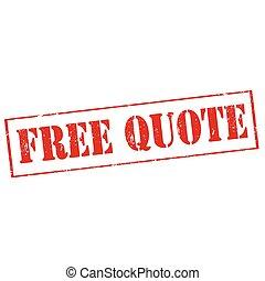 gratuite, citation