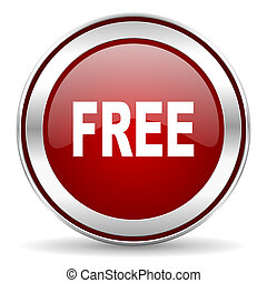 gratuite, icône
