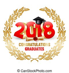 gratulacje, absolwenci