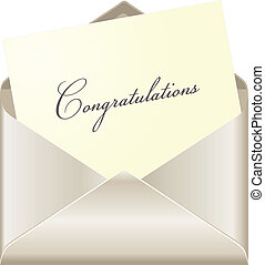 gratulacje, karta