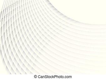grau, wellig, linien, muster, abstrakt, hintergrund